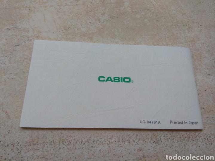 Relojes - Casio: Antigua Guía del Usuario - Instrucciones Reloj Casiotron - Casio - Foto 2 - 185937620