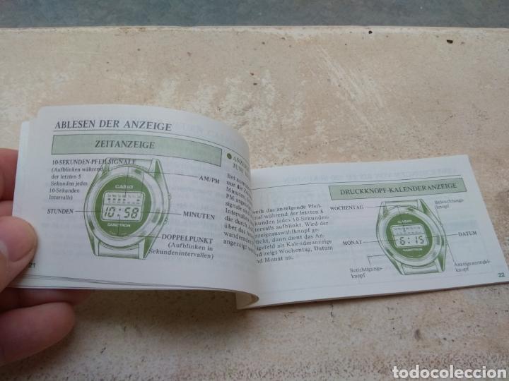 Relojes - Casio: Antigua Guía del Usuario - Instrucciones Reloj Casiotron - Casio - Foto 3 - 185937620
