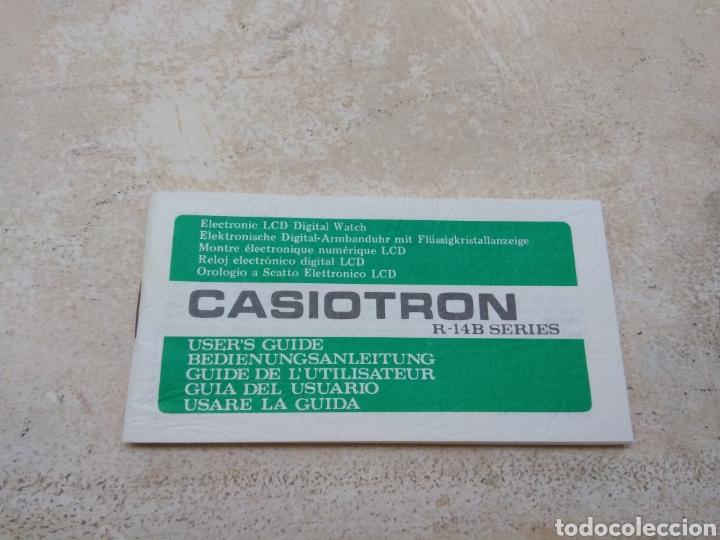 Relojes - Casio: Antigua Guía del Usuario - Instrucciones Reloj Casiotron - Casio - Foto 6 - 185937620
