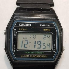 Relojes - Casio: RELOJ CASIO F-84W FUNCIONANDO MUY BUSCADO . Lote 186451960