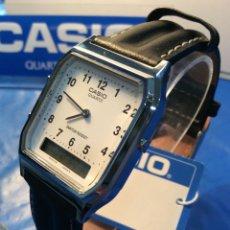 Relojes - Casio: RELOJ CASIO AQ 23O PIEL ¡¡ ANA - DIGI !! VINTAGE ¡¡NUEVO!! (VER FOTOS). Lote 187215735
