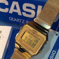 Relojes - Casio: RELOJ CASIO A 700 W GOLD ¡¡ NUEVO DISEÑO VINTAGE !! ¡¡NUEVO¡¡ (VER FOTOS). Lote 187218412