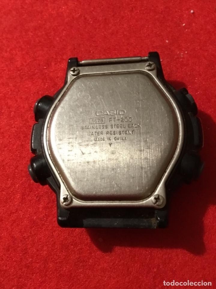 Relojes - Casio: Reloj casio 1879 FT-200 funciona perfecto - Foto 2 - 189132121