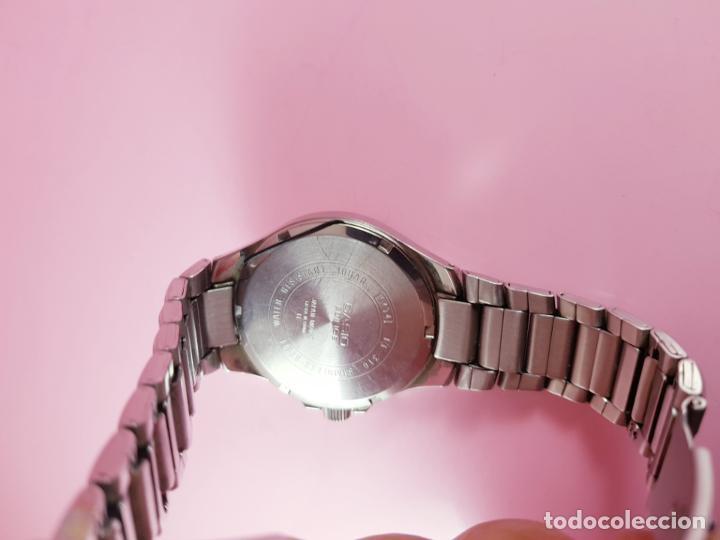 Relojes - Casio: reloj-casio edifice-BUEN ESTADO GENERAL-42 mm con corona-excelente estado-repasado en joyería-caja - Foto 15 - 189205872
