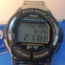 Relojes - Casio: RELOJ CASIO DB 34 D ¡¡¡ DATA BANK !!! ¡¡VINTAGE!! (VER FOTOS). Lote 189432592