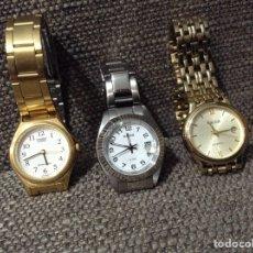 Relojes - Casio: TRES RELOJES DE SEÑORA CASIO Y RACER. Lote 190040855
