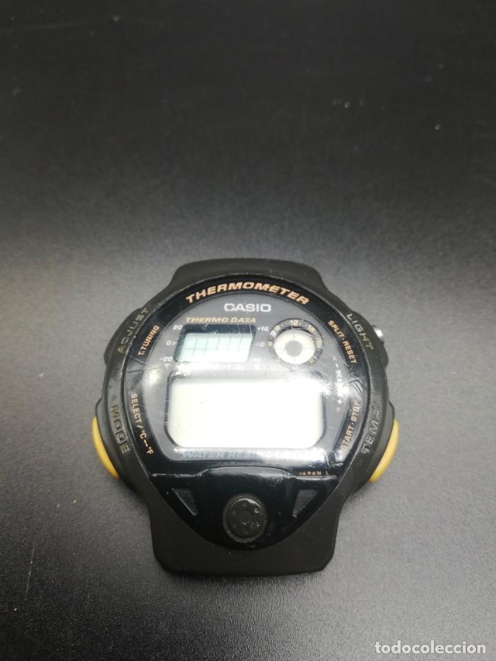 Relojes - Casio: RELOJ CASIO 987 TS-200 FUNCIONANDO THERMOMETER, PILA NUEVA JAPONES - Foto 3 - 221711273
