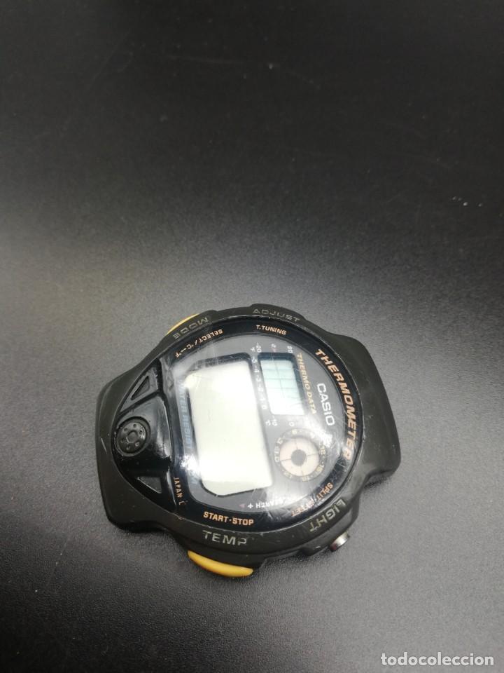 Relojes - Casio: RELOJ CASIO 987 TS-200 FUNCIONANDO THERMOMETER, PILA NUEVA JAPONES - Foto 5 - 221711273