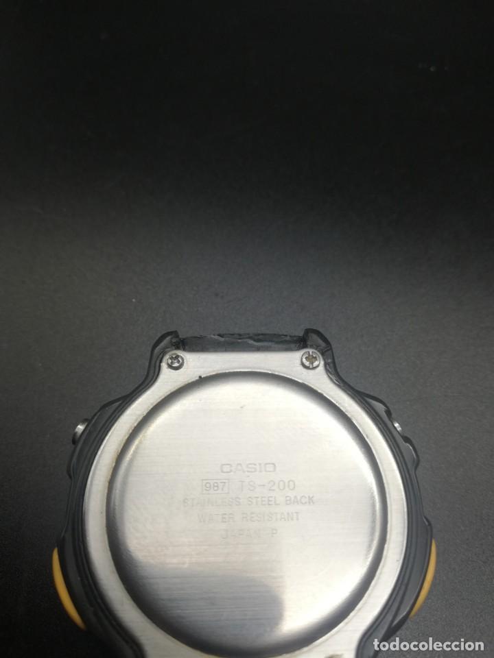 Relojes - Casio: RELOJ CASIO 987 TS-200 FUNCIONANDO THERMOMETER, PILA NUEVA JAPONES - Foto 6 - 221711273