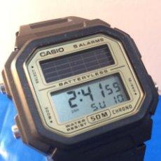 Relojes - Casio: RELOJ CASIO AL 190 ¡¡¡ SOLAR !! VINTAGE ¡¡NUEVO!! (VER FOTOS). Lote 190477110