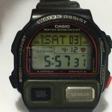 Relojes - Casio: RELOJ CASIO BP-100 MADE IN JAPAN PULSOMETRO VINTAGE. Lote 190748643