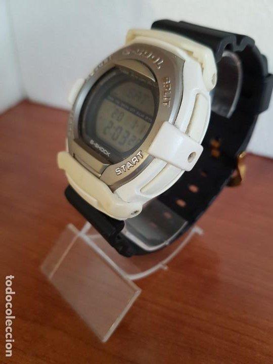 Relojes - Casio: Reloj caballero CASIO modelo GT - 004 - 1632 digital en blanco, correa de silicona Casio negra - Foto 10 - 190867448