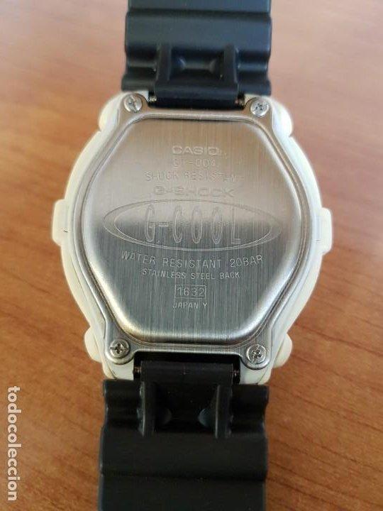 Relojes - Casio: Reloj caballero CASIO modelo GT - 004 - 1632 digital en blanco, correa de silicona Casio negra - Foto 13 - 190867448