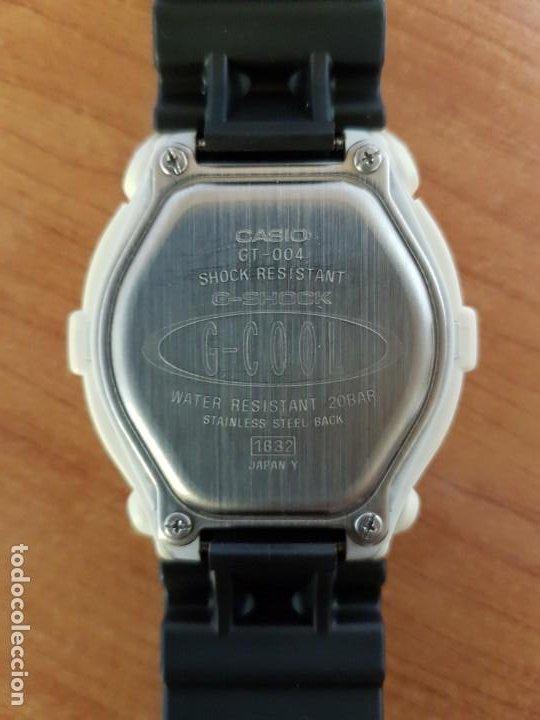 Relojes - Casio: Reloj caballero CASIO modelo GT - 004 - 1632 digital en blanco, correa de silicona Casio negra - Foto 15 - 190867448