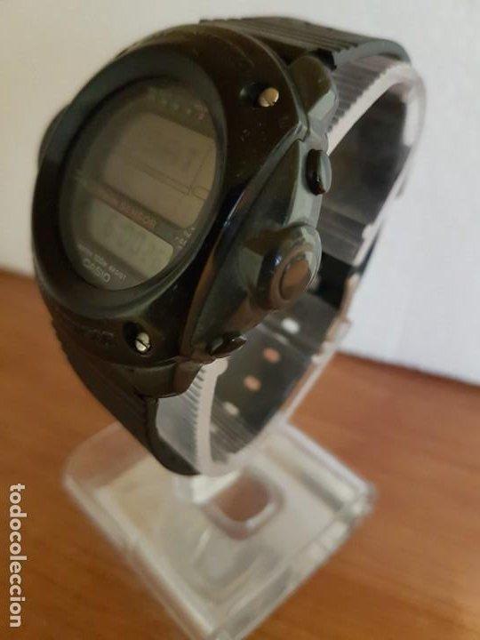 Relojes - Casio: Reloj caballero (Vintage) CASIO 1282. ALT-6200, altímetro, barómetro, termómetro, etc, correa goma - Foto 6 - 191041531