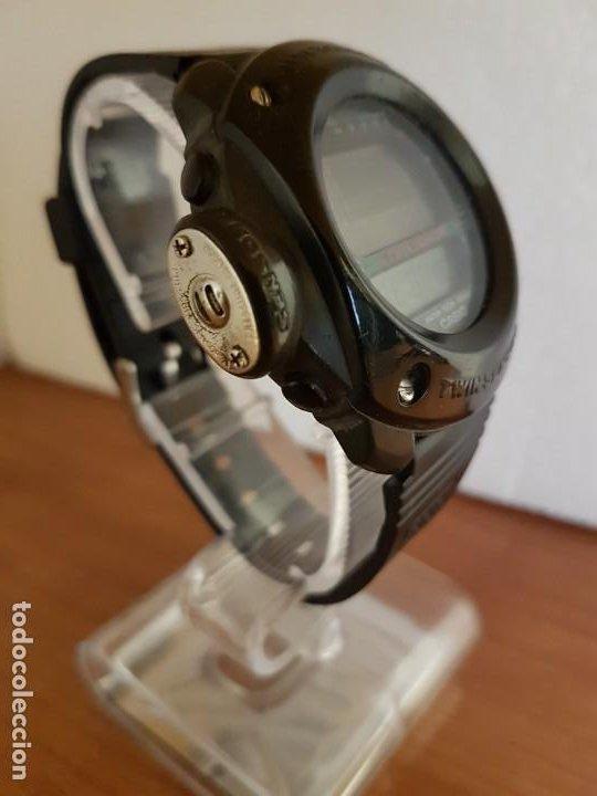 Relojes - Casio: Reloj caballero (Vintage) CASIO 1282. ALT-6200, altímetro, barómetro, termómetro, etc, correa goma - Foto 7 - 191041531