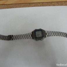 Relojes - Casio: RELOJ VINTAGE AÑOS 80 CASIO / FUNCIONANDO / VER FOTOS PARA VER DESGASTE . Lote 191633785