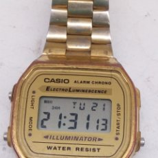 Relojes - Casio: RELOJ CASIO A168. Lote 191831130