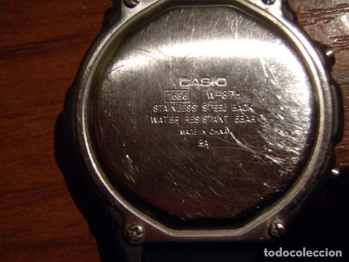 Relojes - Casio: RELOJ CASIO W87H W-87H FUNCIONANDO - Foto 3 - 193955003