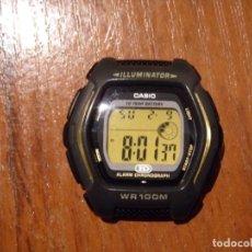 Relojes - Casio: RELOJ CASIO HDD600 HDD-600 FUNCIONANDO BIEN SIN CORREA. Lote 193955408