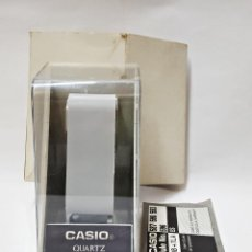 Relojes - Casio: ANTIGUA CAJA-CABALLETE DE RELOJ CASIO F-91-W.1Z. Lote 168963408