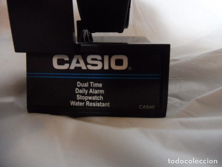 Relojes - Casio: Reloj Casio Dual Time analógico y digital CAS40 nuevo con instrucciones - Foto 2 - 193962167