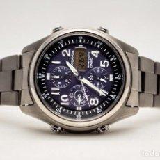 Relojes - Casio: CRONOGRAFO ATOMICO SOLAR CASIO OCEANUS OCW 520T. Lote 194312532