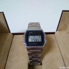 Relojes - Casio: CASIO A158W FUNCIONANDO CON CORREA DE ACERO INOXIDABLE ORIGINAL. Lote 194340583