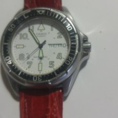 Relojes - Casio: RELOJ CRONÓGRAFO CASIO QUARTZ 552779 JAPAN DM 394 MD-502. Lote 194535491