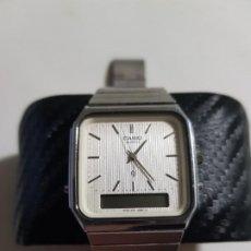 Relojes - Casio: CASIO 305 34 MMS ACERO FUNCIONANDO CORRECTAMENTE ESTADO BUENO MAS ARTICULOS . Lote 194540787
