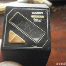 Relojes - Casio: RELOG DIGITAL DE COLECCIÓN CASIO FS 10 AUTO CALENDAR EXTRAPLANO - FUNCIONANDO - CRISTAL ALGO RAYADO . Lote 194782615