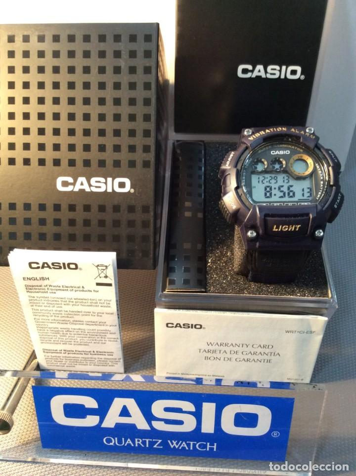 Relojes - Casio: RELOJ CASIO W 735 ¡¡ VIBRATION ALARM !! ¡¡NUEVO¡¡ ( VER FOTOS ) - Foto 4 - 128236803