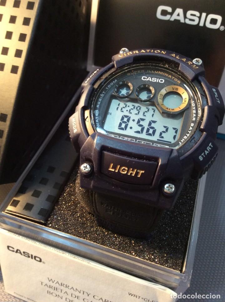 Relojes - Casio: RELOJ CASIO W 735 ¡¡ VIBRATION ALARM !! ¡¡NUEVO¡¡ ( VER FOTOS ) - Foto 2 - 128236803