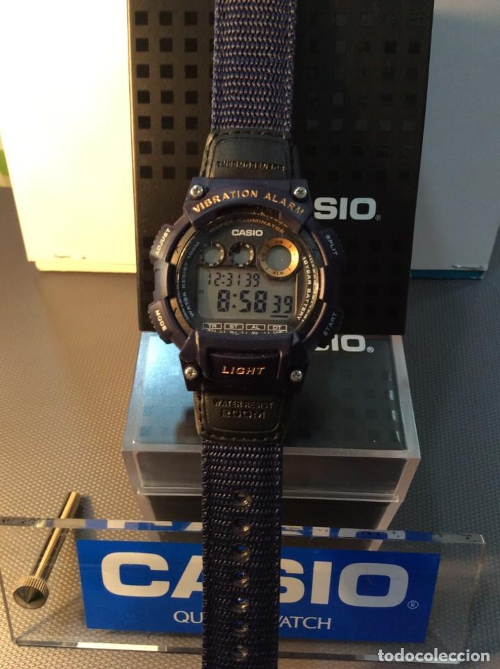 Relojes - Casio: RELOJ CASIO W 735 ¡¡ VIBRATION ALARM !! ¡¡NUEVO¡¡ ( VER FOTOS ) - Foto 7 - 128236803