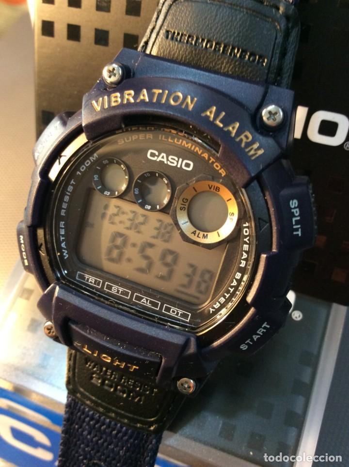 Relojes - Casio: RELOJ CASIO W 735 ¡¡ VIBRATION ALARM !! ¡¡NUEVO¡¡ ( VER FOTOS ) - Foto 8 - 128236803