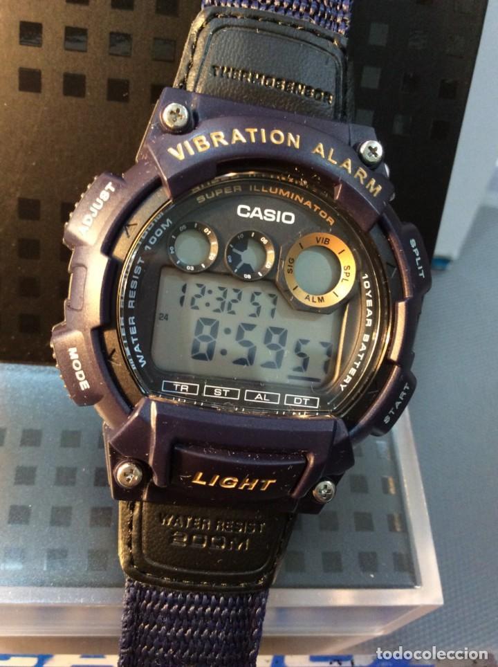 Relojes - Casio: RELOJ CASIO W 735 ¡¡ VIBRATION ALARM !! ¡¡NUEVO¡¡ ( VER FOTOS ) - Foto 3 - 128236803