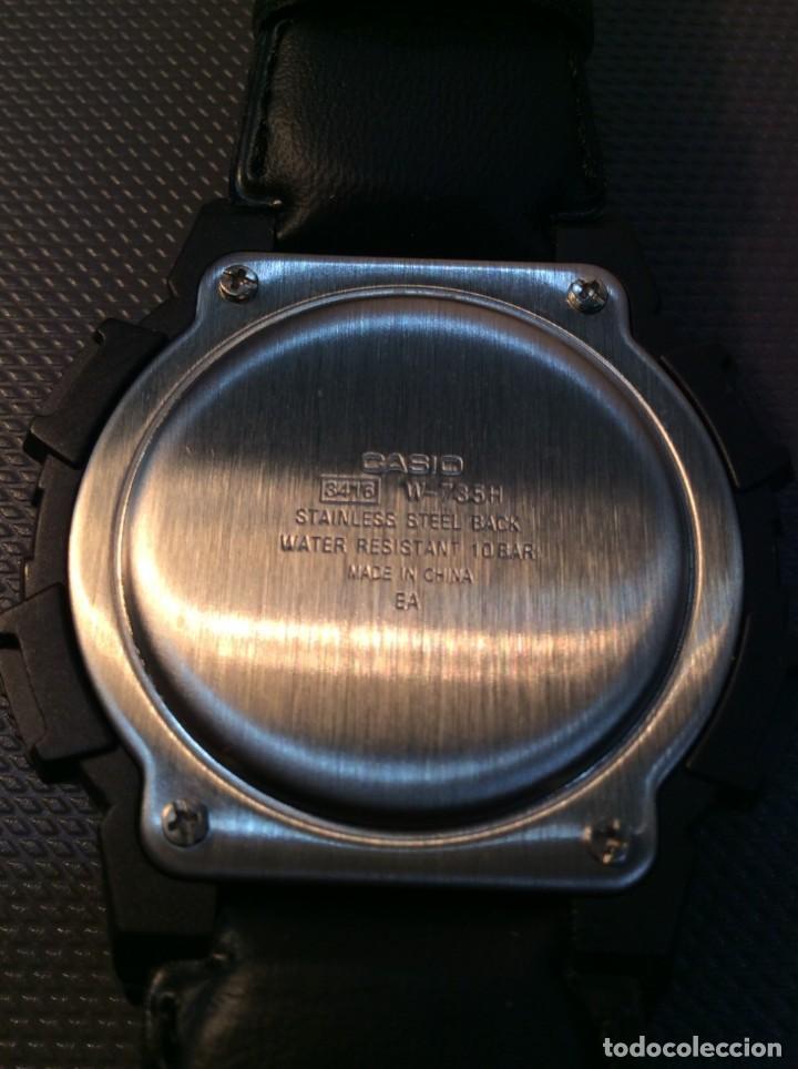 Relojes - Casio: RELOJ CASIO W 735 ¡¡ VIBRATION ALARM !! ¡¡NUEVO¡¡ ( VER FOTOS ) - Foto 9 - 128236803