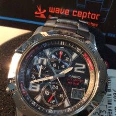 Relojes - Casio: RELOJ CASIO WVQ 550 DE ¡¡ WAVE CEPTOR !! ¡¡NUEVO!! (VER FOTOS). Lote 80049923