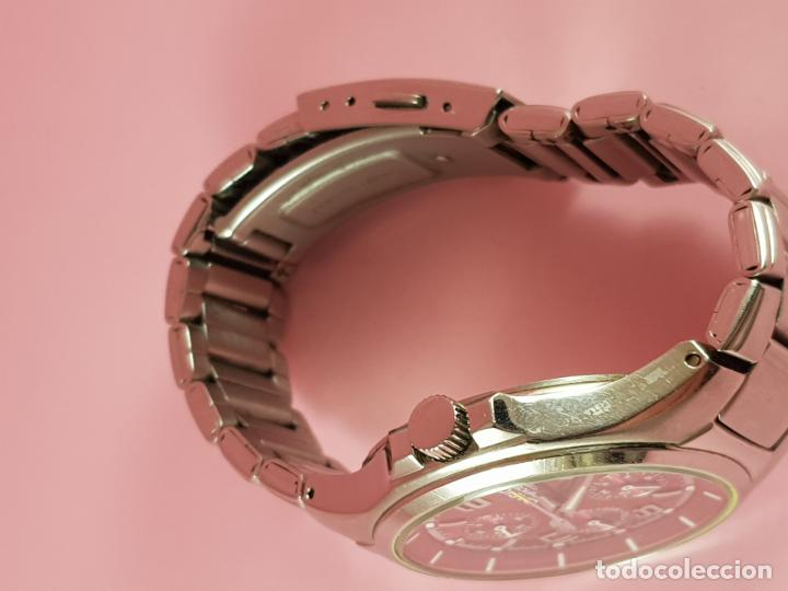 Relojes - Casio: reloj-casio edifice-BUEN ESTADO GENERAL-42 mm con corona-excelente estado-repasado en joyería-caja - Foto 11 - 189205872