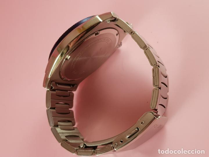Relojes - Casio: RELOJ-CASIO-AZULES-JAPÓN-BUEN ESTADO GENERAL-IRÍA EN CAJA SIN DEFINIR-VER FOTOS - Foto 4 - 195239306