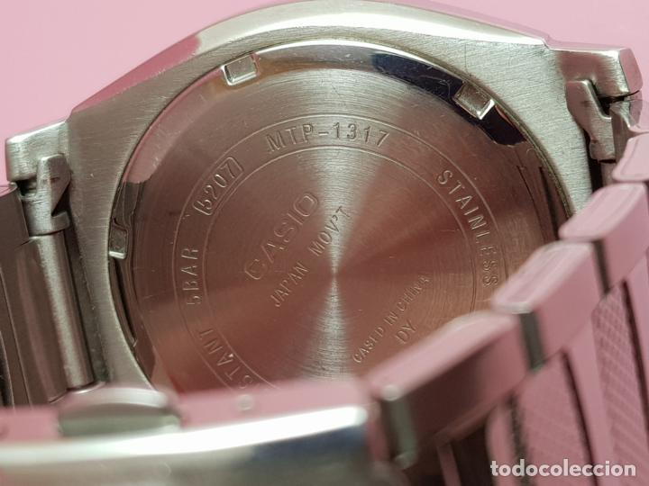 Relojes - Casio: RELOJ-CASIO-AZULES-JAPÓN-BUEN ESTADO GENERAL-IRÍA EN CAJA SIN DEFINIR-VER FOTOS - Foto 5 - 195239306
