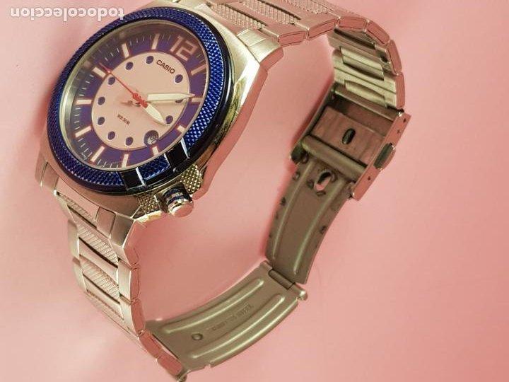 Relojes - Casio: RELOJ-CASIO-AZULES-JAPÓN-BUEN ESTADO GENERAL-IRÍA EN CAJA SIN DEFINIR-VER FOTOS - Foto 7 - 195239306