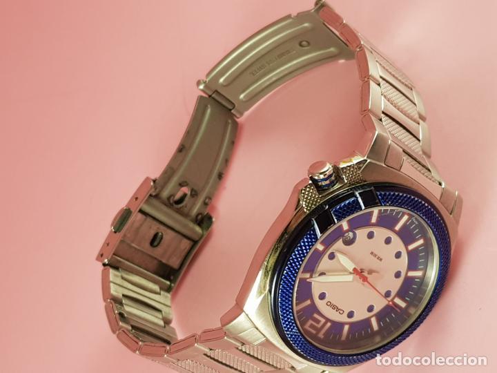 Relojes - Casio: RELOJ-CASIO-AZULES-JAPÓN-BUEN ESTADO GENERAL-IRÍA EN CAJA SIN DEFINIR-VER FOTOS - Foto 19 - 195239306