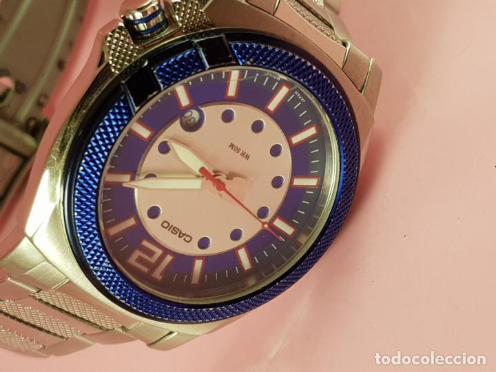 Relojes - Casio: RELOJ-CASIO-AZULES-JAPÓN-BUEN ESTADO GENERAL-IRÍA EN CAJA SIN DEFINIR-VER FOTOS - Foto 21 - 195239306