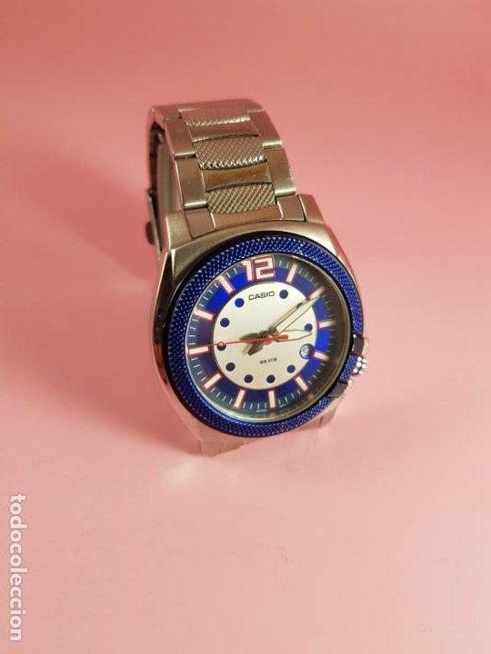 Relojes - Casio: RELOJ-CASIO-AZULES-JAPÓN-BUEN ESTADO GENERAL-IRÍA EN CAJA SIN DEFINIR-VER FOTOS - Foto 22 - 195239306