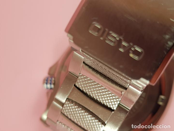 Relojes - Casio: RELOJ-CASIO-AZULES-JAPÓN-BUEN ESTADO GENERAL-IRÍA EN CAJA SIN DEFINIR-VER FOTOS - Foto 24 - 195239306