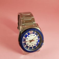 Relojes - Casio: RELOJ-CASIO-AZULES-JAPÓN-BUEN ESTADO GENERAL-IRÍA EN CAJA SIN DEFINIR-VER FOTOS. Lote 195239306
