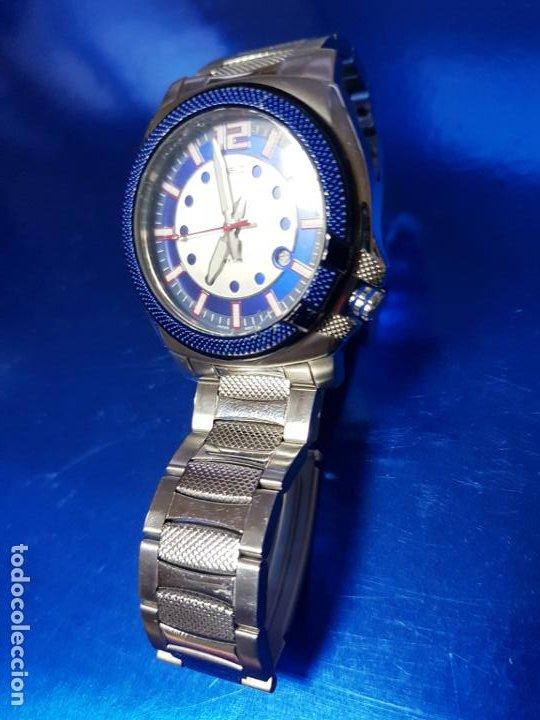 Relojes - Casio: RELOJ-CASIO-AZULES-JAPÓN-BUEN ESTADO GENERAL-IRÍA EN CAJA SIN DEFINIR-VER FOTOS - Foto 20 - 195239306