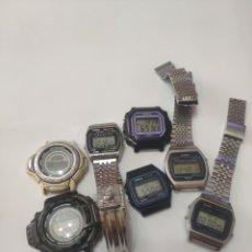 Relojes - Casio: 7 CASIO. Lote 195410347