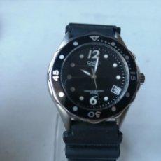 Relojes - Casio: RELOJ CASIO QUARTZ SUPER ILLUMINATOR .WATER RESIST. 100M.CORONA ROSCADA.. Lote 195992552